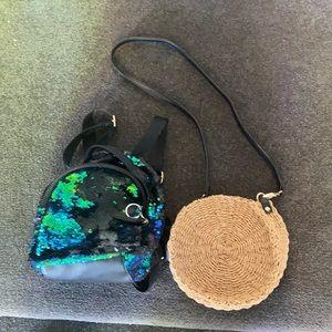 1 Bardot junior bag 1 sequins back pack